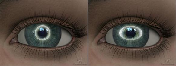 Oblik rožnjače kod astigmatizma