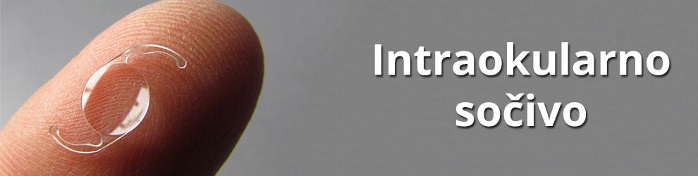 Intraokularno sočivo